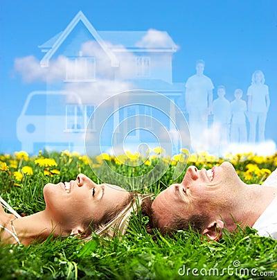 Free Couple Dreaming Stock Photos - 18657823