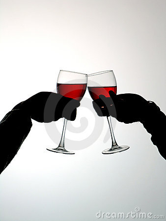 Free Couple Drinking Vine Stock Photos - 713413