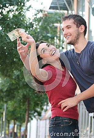 Couple Fighting over Money, Finances