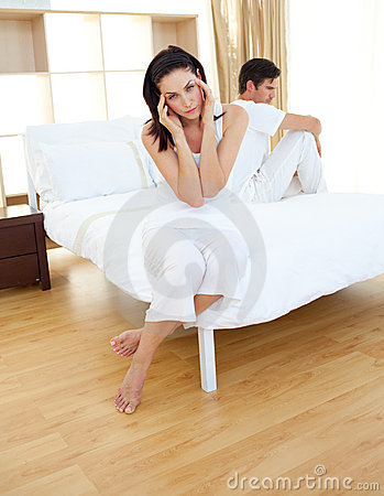 Couple Finding Out Results Of A Pregnancy Test Royalty Free Stock Photos - Image: 12725868