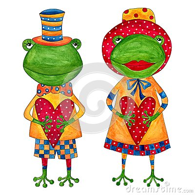 Couple of frogs