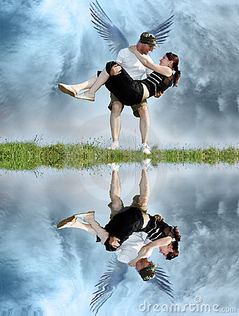 Free Couple From Heaven Royalty Free Stock Images - 1173699