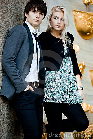 Free Couple - Girl And Guy Stock Photos - 15354873