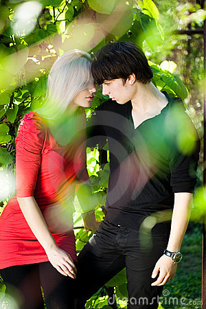 Couple - girl and guy