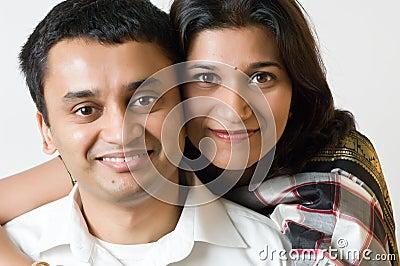 Couple happy