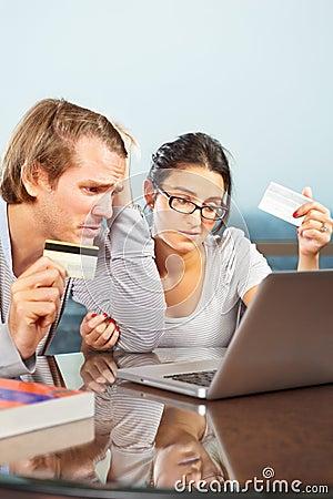 Couple having financial problem