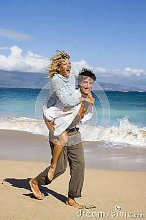 Free Couple Having Fun. Stock Images - 3612724