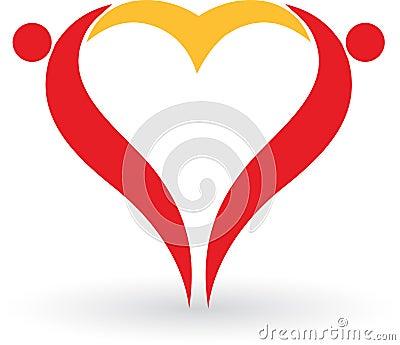 Couple heart