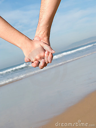 Free Couple Holding Hands Stock Image - 3923531