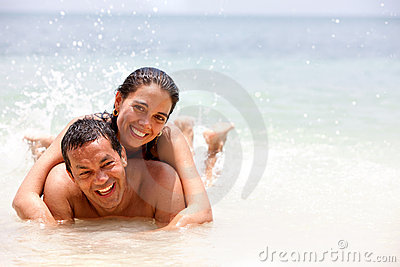 Couple on holidays