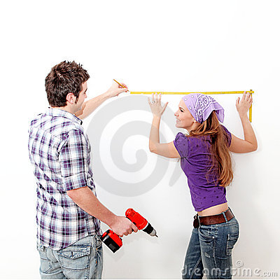 Couple and home repairs