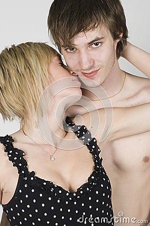 Free Couple Hugging Passionately Stock Photos - 2401203