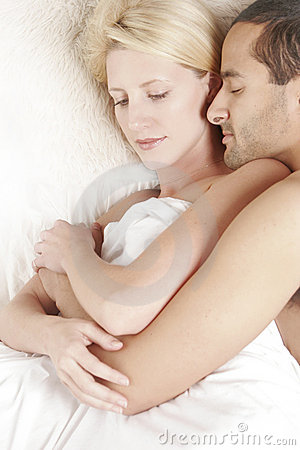 Free Couple In Bed Royalty Free Stock Photos - 3753868