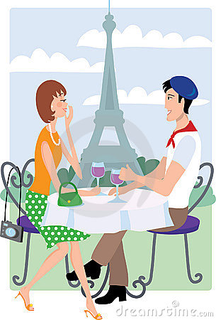 Free Couple In Paris Stock Photography - 2094102