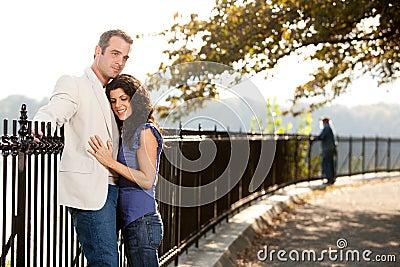 Couple Love Park