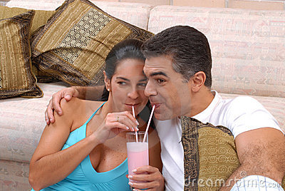 Couple milk shake.