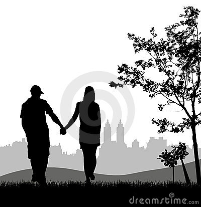 Couple at outdoor