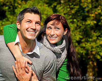 Couple pair outdoor