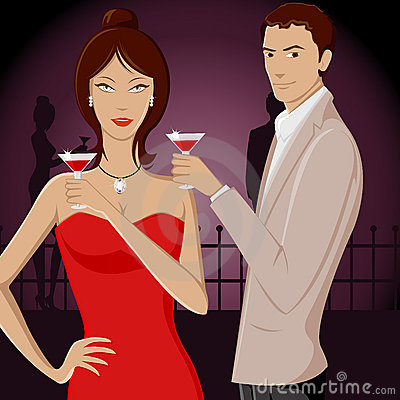 Couple in Party