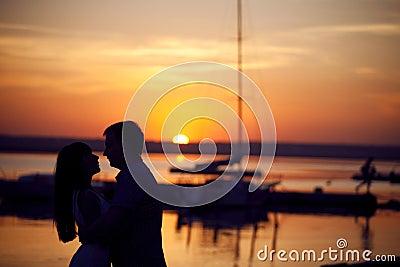 Couple on the peir