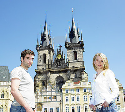 Couple in Prague