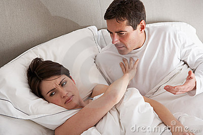 Couple With Problems Having Disagreement