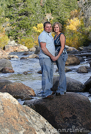 Couple On River 2