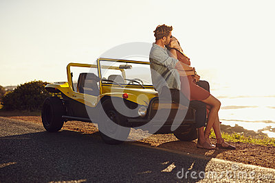 Parked Car Romantic Area