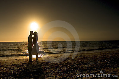 Couple in a Romantic Afternoon