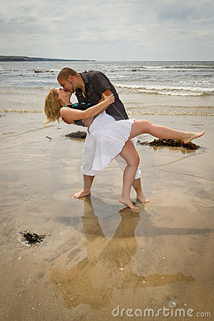 Couple In Romantic Kiss Stock Photo - Image: 20687660
