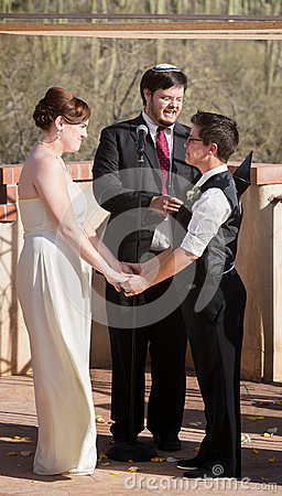 Gay Couple Marrying