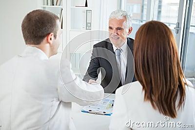 Couple With Their Financial Advisor