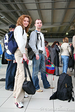 Couple in travel