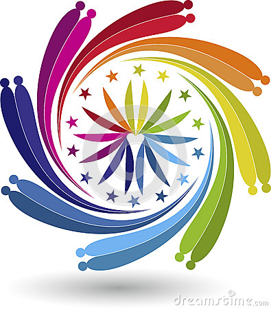 Couple twirl logo