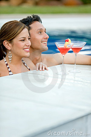Couple in vacations