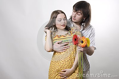 Couple waiting for baby
