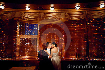 Couple by the window