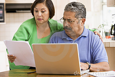 Couple worried about personal finances