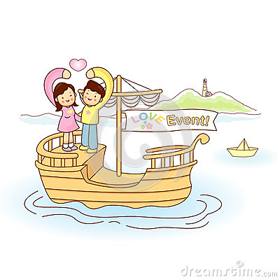 Couples love of travel