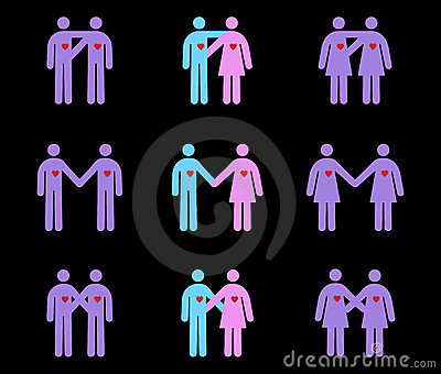 Couples Pictograms