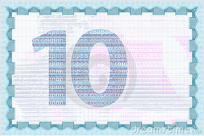 Coupon guilloche template and currency backgrounds