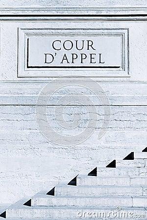 Cour d appel