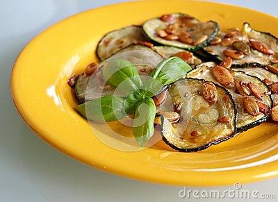 Courgette snack