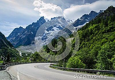 Courmayeur Mont Blanc Peak