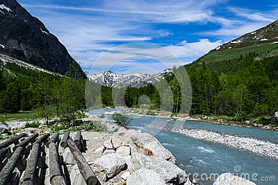 Courmayeur Mountain Landscape