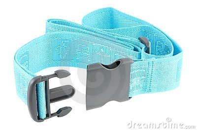 Courroie bleue réglable de bagage de course