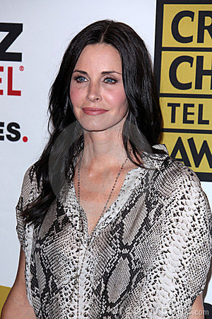 Courteney Cox Editorial Image