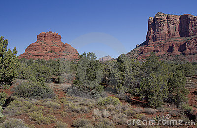 Courthouse Butte and Bell Rock Sedona