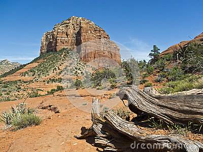Courthouse Butte near Sedona, Arizona