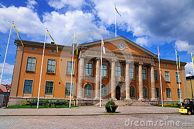 Courthouse of Karlskrona, Sweden
